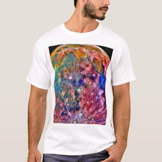 Die NASA - Galileo - Mond - falsche Farbe T-Shirt