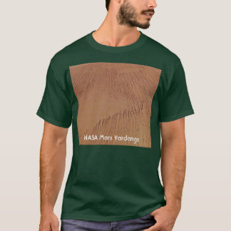 Die NASA-Mars Yardangs T-Shirt