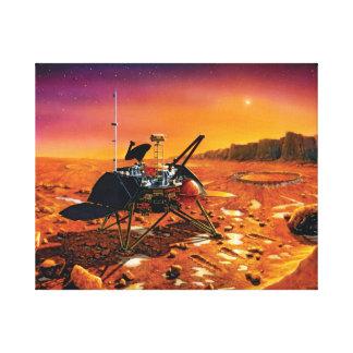 Die NASA-Marspolare Lander-Künstler-Konzept-Grafik Leinwanddruck