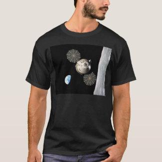 Die NASA Orion in der Mondbahn T-Shirt
