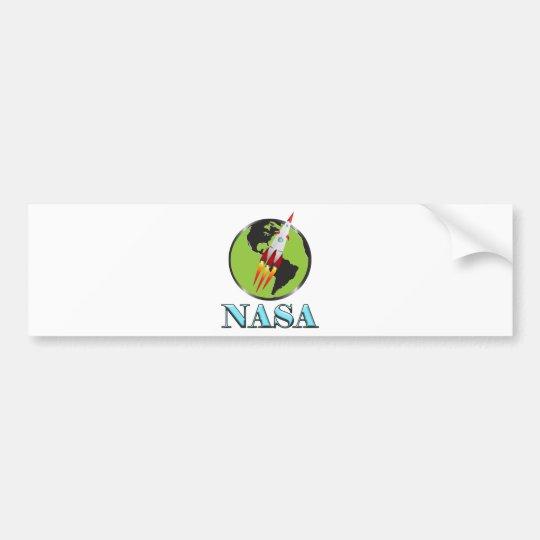Die NASA-Raum Autoaufkleber