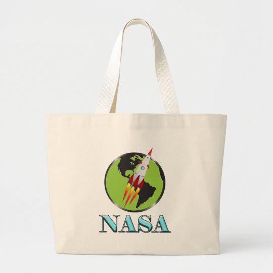 Die NASA-Raum Jumbo Stoffbeutel
