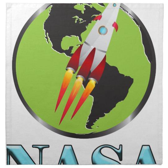 Die NASA-Raum Stoffserviette
