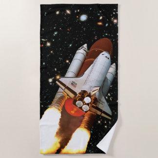 Die NASA-Raumfähre-Atlantis-Produkteinführung Strandtuch