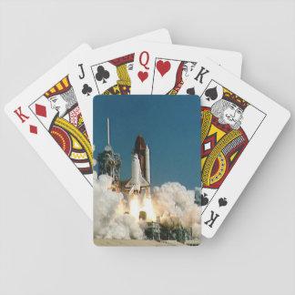 Die NASA-Raumfähreprodukteinführung, Rocket-Karten Spielkarten
