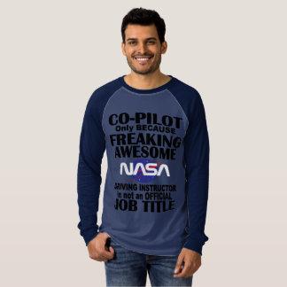 Die NASA-Rennen-T-Stück T-Shirt