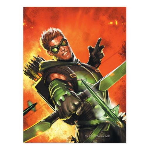 Die neuen 52 - der grüne Pfeil #1 Postkarten