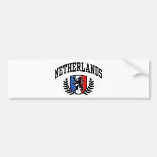 Die Niederlande Autoaufkleber