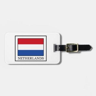 Die Niederlande Kofferanhänger