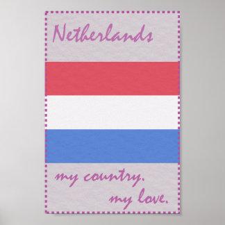 Die Niederlande mein Land meine Liebe Poster