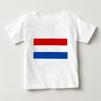 Die niederländische Flagge Baby T-shirt