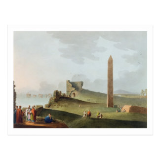 Die Obelisks in Alexandria, genannt Kleopatra Nee Postkarte