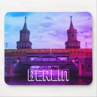 Die Oberbaum Brücke 002.01.F, BERLIN Mauspad