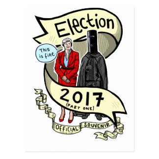 Die offizielle Laurie rosa Wahl-Andenken 2017 Postkarte