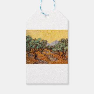 Die ölbäume von Vincent van Gogh (treesoliven) Geschenkanhänger