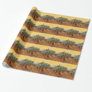 Die ölbäume von Vincent van Gogh (treesoliven) Geschenkpapier