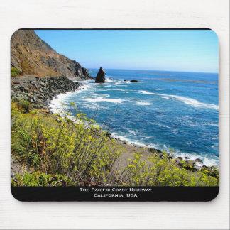 Die Pazifikküste-Landstraße Mauspad