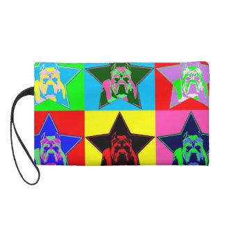 Die perfekte Pitbull-grafische Handtasche - bunt