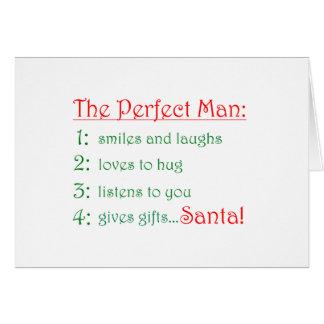 Die perfekten Mann-Karten Karte