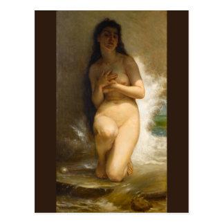 Die Perle durch William-Adolphe Bouguereau Postkarte
