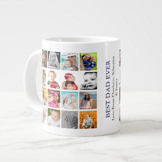 Die personalisierte Foto-Collage schaffen Ihre Jumbo-Tasse