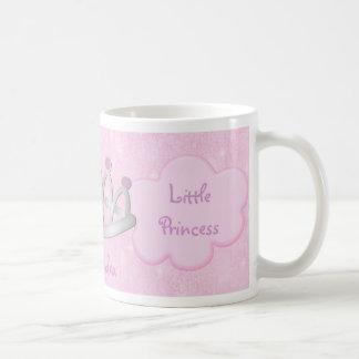 Die personalisierte rosa Prinzessin Mug des Kindes Tee Haferl