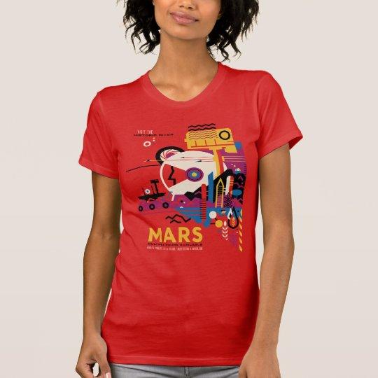Die Planeten-Mars - historische Standorte T-Shirt