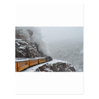 Die polaren Eilrunden die Biegung Postkarte
