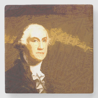 Die Präsidenten - Washington Steinuntersetzer