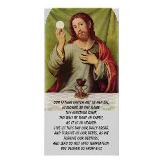 Die prayer des Lords Fotokarte