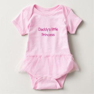 Die Prinzessin des rosa Baby Strampler