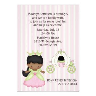 Die Prinzessin-u. der Trainer-Geburtstags-Party Individuelle Einladungskarten