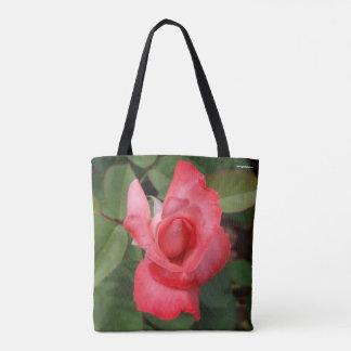 Die Produkt-Garten-Rosa der Frauen, korallenrote Tasche