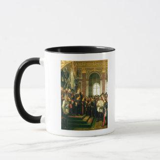 Die Proklamation von Wilhelm als Kaiser Tasse
