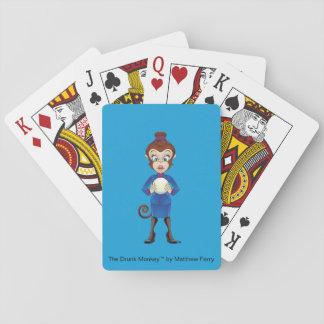 Die psychischer betrunkener Affe-Spielkarten Spielkarten