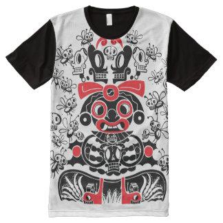 Die Pulque Göttin T-Shirt Mit Komplett Bedruckbarer Vorderseite