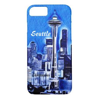 Die Raum-Nadel - Seattle, Washington iPhone 8/7 Hülle
