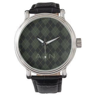 Die Rauten-Uhr-Geschenk der Männer Retro mit Armbanduhr