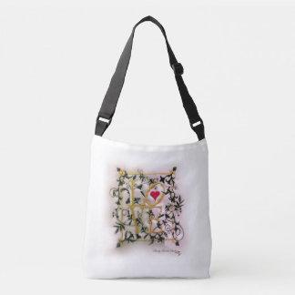 Die Reben von Liebe Crossbody Tasche (Medium)