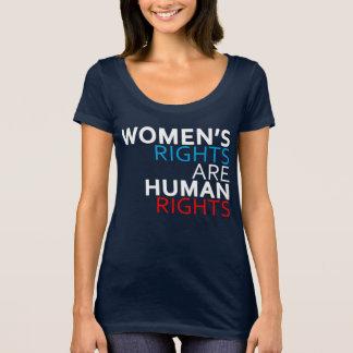 Die Rechte der Frauen sind T-Shirt