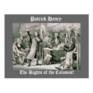 Die Rechte der Kolonien! Postkarte