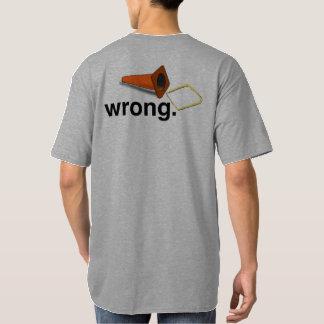 Die rechte Weise und die falsche Weise zu AutoX T-Shirt
