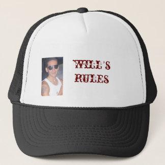 die Regeln des Willen Truckerkappe