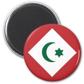 die Republik das Rif, Marokko Runder Magnet 5,7 Cm