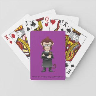 Die Richter-betrunkener Affe-Spielkarten Spielkarten