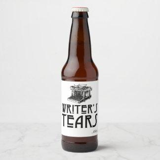 Die Riss-kundengerechter Bier-Aufkleber des Bierflaschenetikett