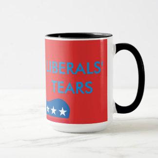 Die Riss-Tasse der Liberalen Tasse