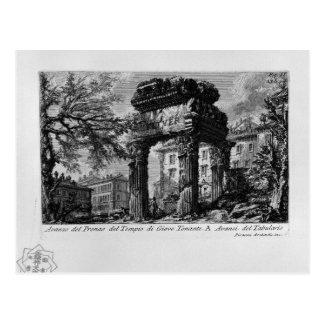 Die römischen Antiquitäten, T. 1, Platte XXXII. Postkarte