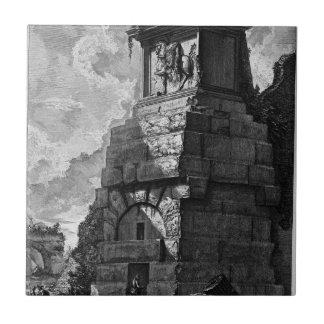 Die römischen Antiquitäten, T. 2, Platte XXXIX Keramikfliese
