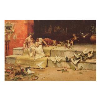 Die römischen Mädchen durch Juan Luna Holzleinwand